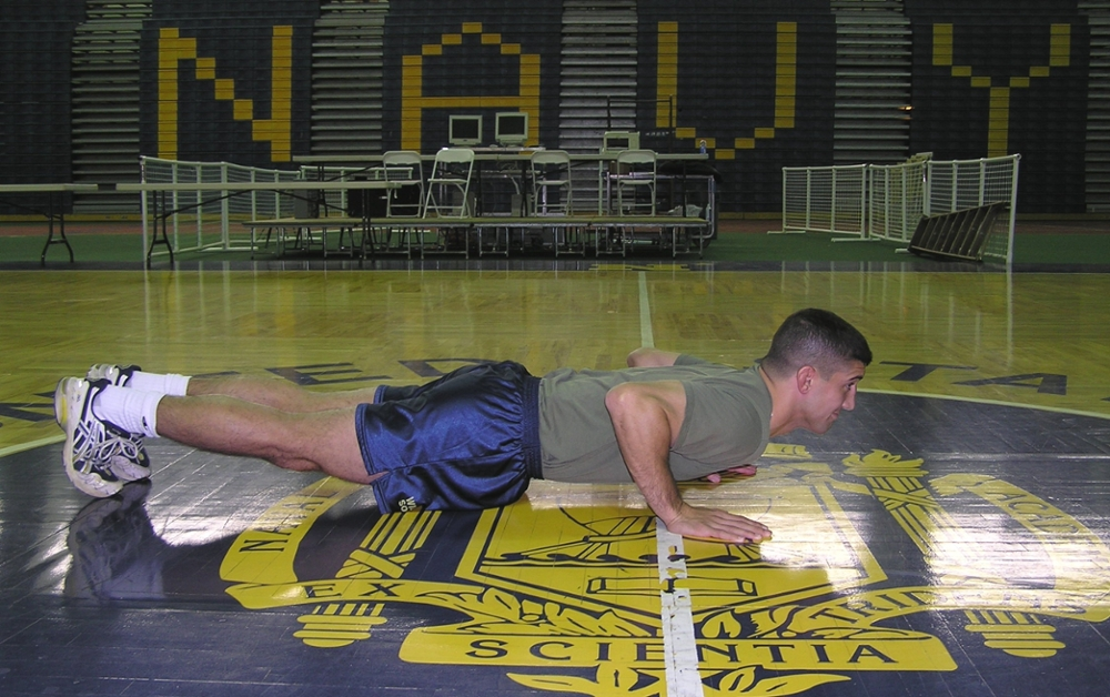 The Candidate Fitness Assessment :: Admissions :: USNA