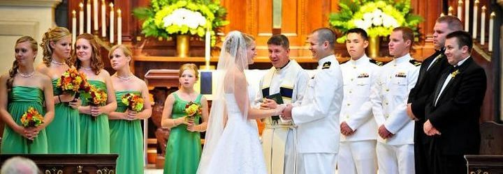 Wedding Vows In The Chapel