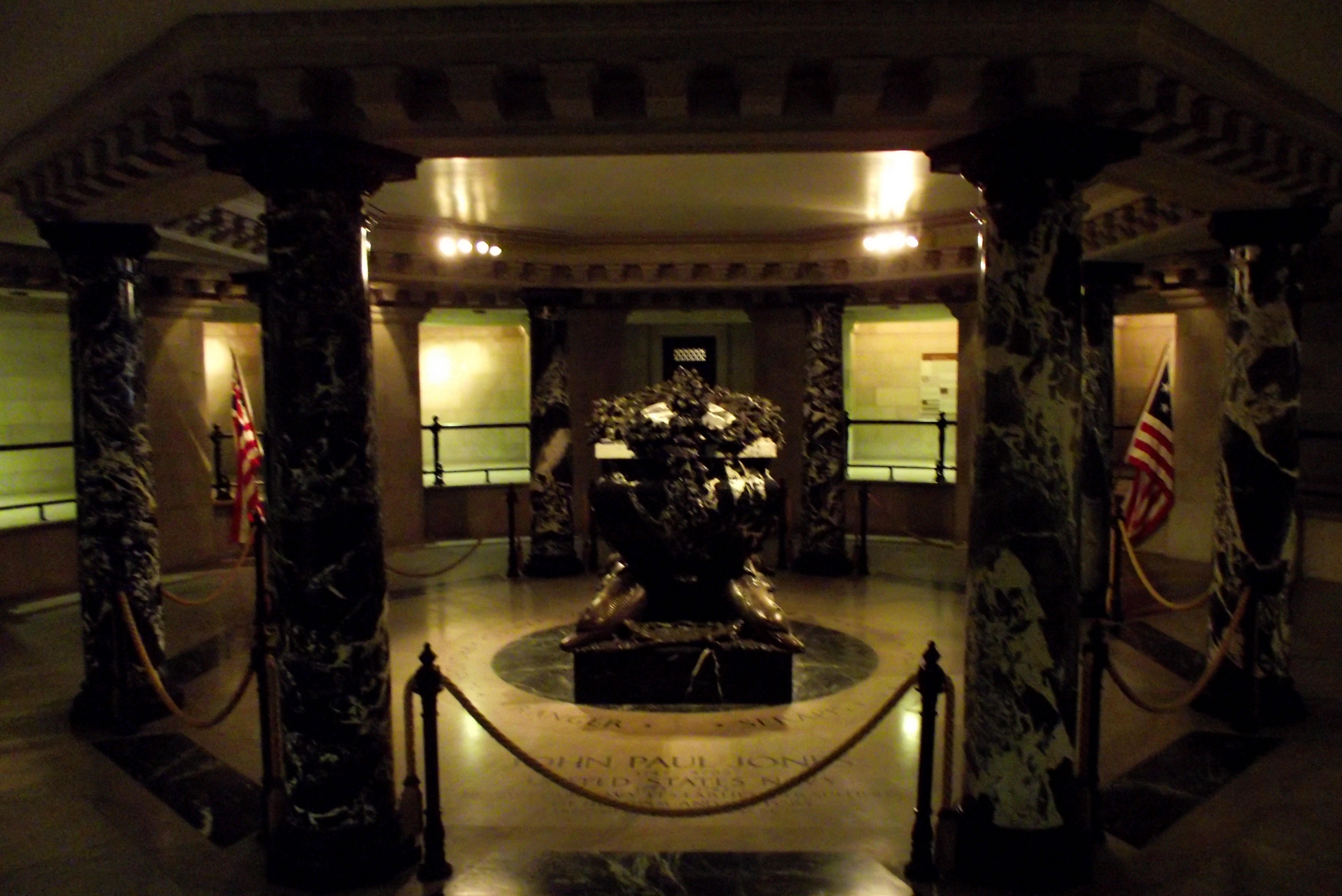 crypt of john paul jones chaplain s center usna