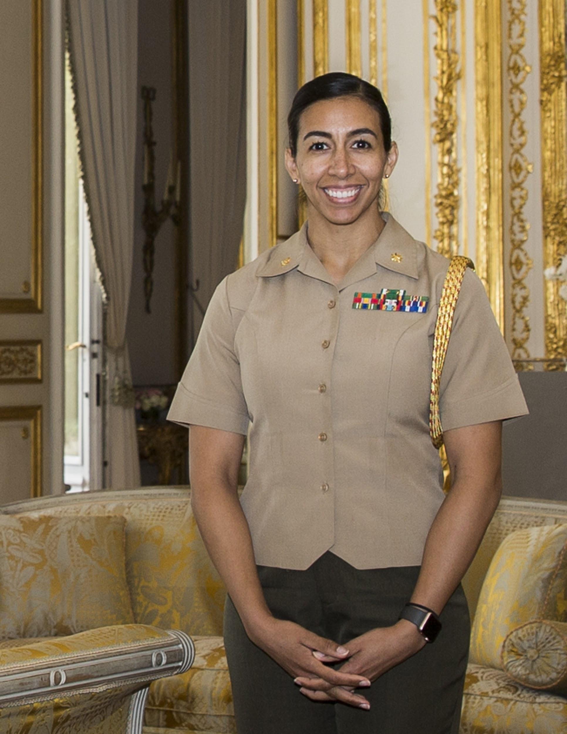 Major Desiree Sanchez Stockdale Center For