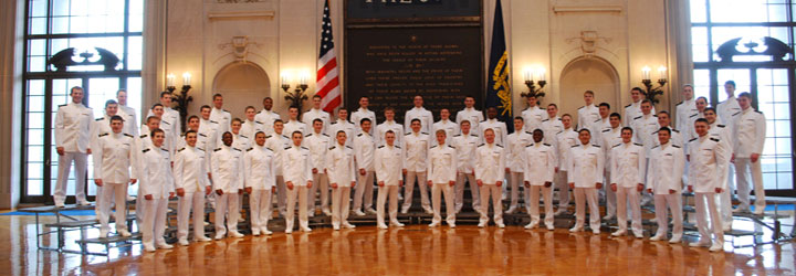 mens glee club music department usna