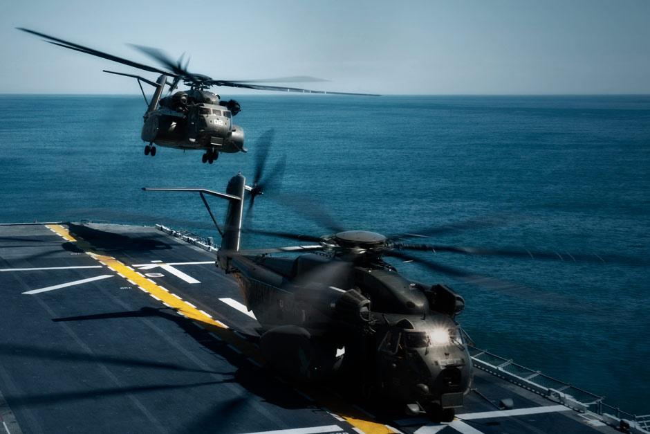 Sea Dragon MH 53E