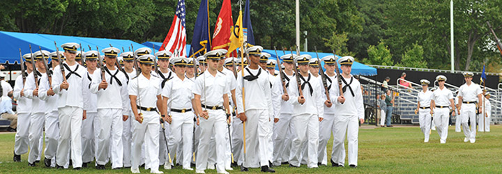 Plebe Summer Parade Calendar - Class of 2018 :: USNA News