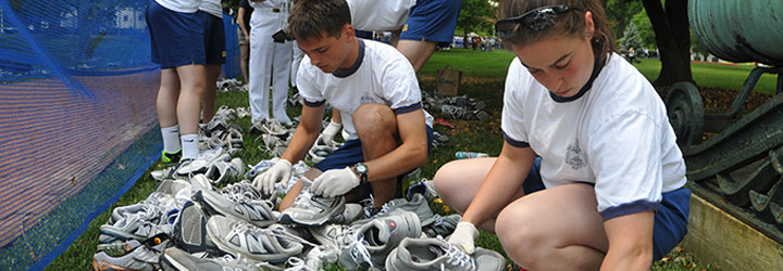 Navy Boot Camp Running Shoes