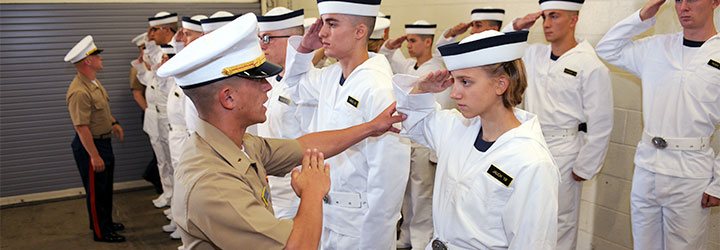 us naval academy welcomes class of 2019