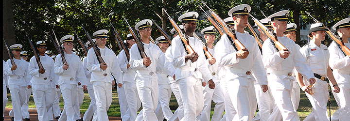 PLEBE SUMMER PARADE CALENDAR Class of 2019 :: USNA News