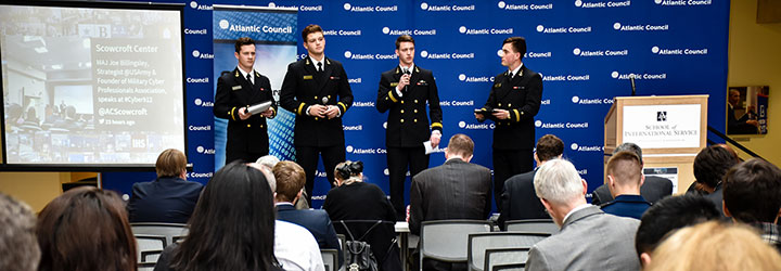 Image for USNA Graduates First Cyber Operations Midshipmen