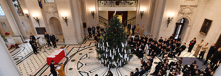 Image for USNA Midshipmen hold 26th Annual Giving Tree Ceremony