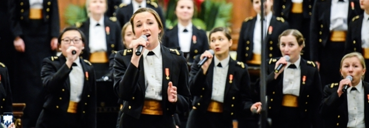 Image for Naval Academy Women's Glee Club Midshipmen and Alumni Present First-Ever Reunion Concert