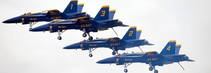 Image for Blue Angels to Perform During USNA Commissioning Week