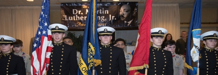 Image for Naval Academy Staff Member Receives Martin Luther King, Jr. Drum Major Award