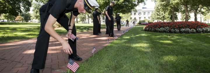 Image for September 11 Remembrance Events at USNA