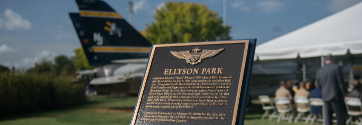 Image for Naval Academy Park Dedicated in Honor of the First Naval Aviator