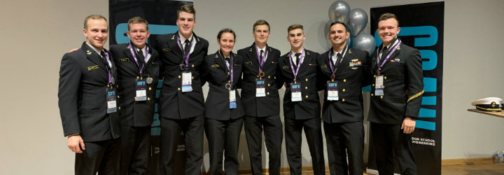 Image for NAVAL ACADEMY CYBER TEAMS PLACE AT NATIONAL CYBER COMPETITION