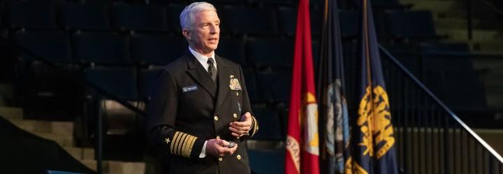 Image for SOUTHCOM Commander Delivers Forrestal Lecture at USNA