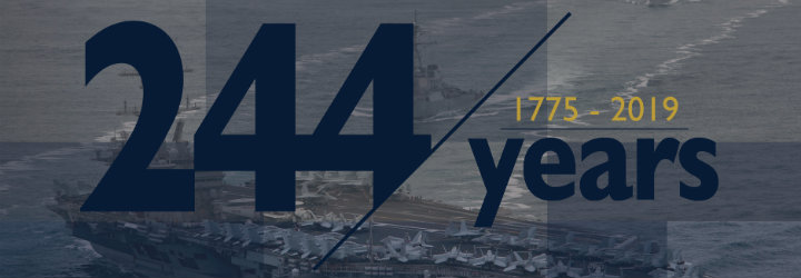 Image for NAVAL ACADEMY TO CELEBRATE NAVY'S 244TH BIRTHDAY