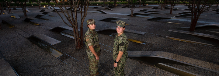Image for From Pentagon Survivor to Midshipman