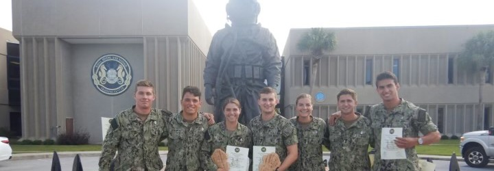 Image for Midshipmen on Summer Training Complete Navy's SCUBA Dive School Program