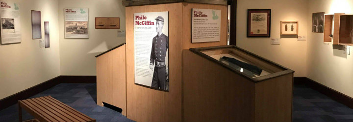 """Image for NAVAL ACADEMY MUSEUM ANNOUNCES NEW """"PHILO MCGIFFIN: A MAN OF WIT AND DASH"""" EXHIBIT"""