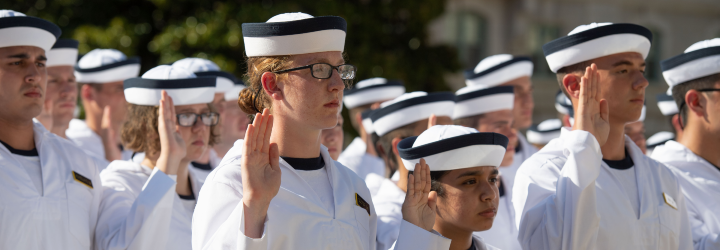 Image for USNA ANNOUNCES INDUCTION, OATH DAY FOR CLASS OF 2025