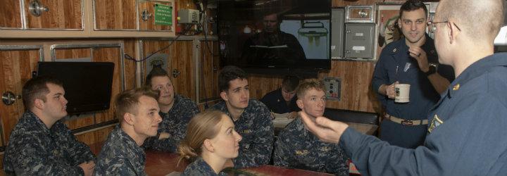 Image for Midshipmen Tour USS North Dakota