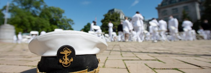 Image for NAVAL ACADEMY CLASS OF 2020 VIRTUAL COMMISSIONING