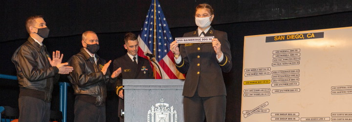 Image for USNA Class of 2021 Select First Ships