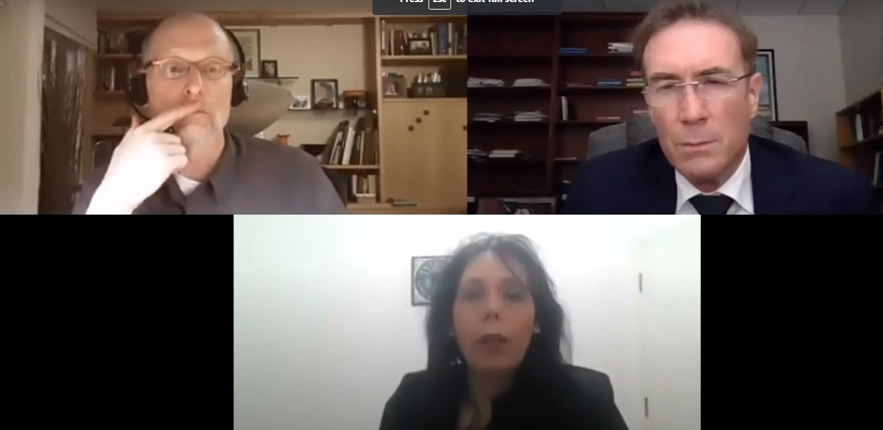 Image for McCain Conference, Day 6: Dr. Ed Barrett, Dr. Tami Meisels, Dr. Michael Gross - Ethics in the Grey Zone - Hostage Taking and Media Warfare