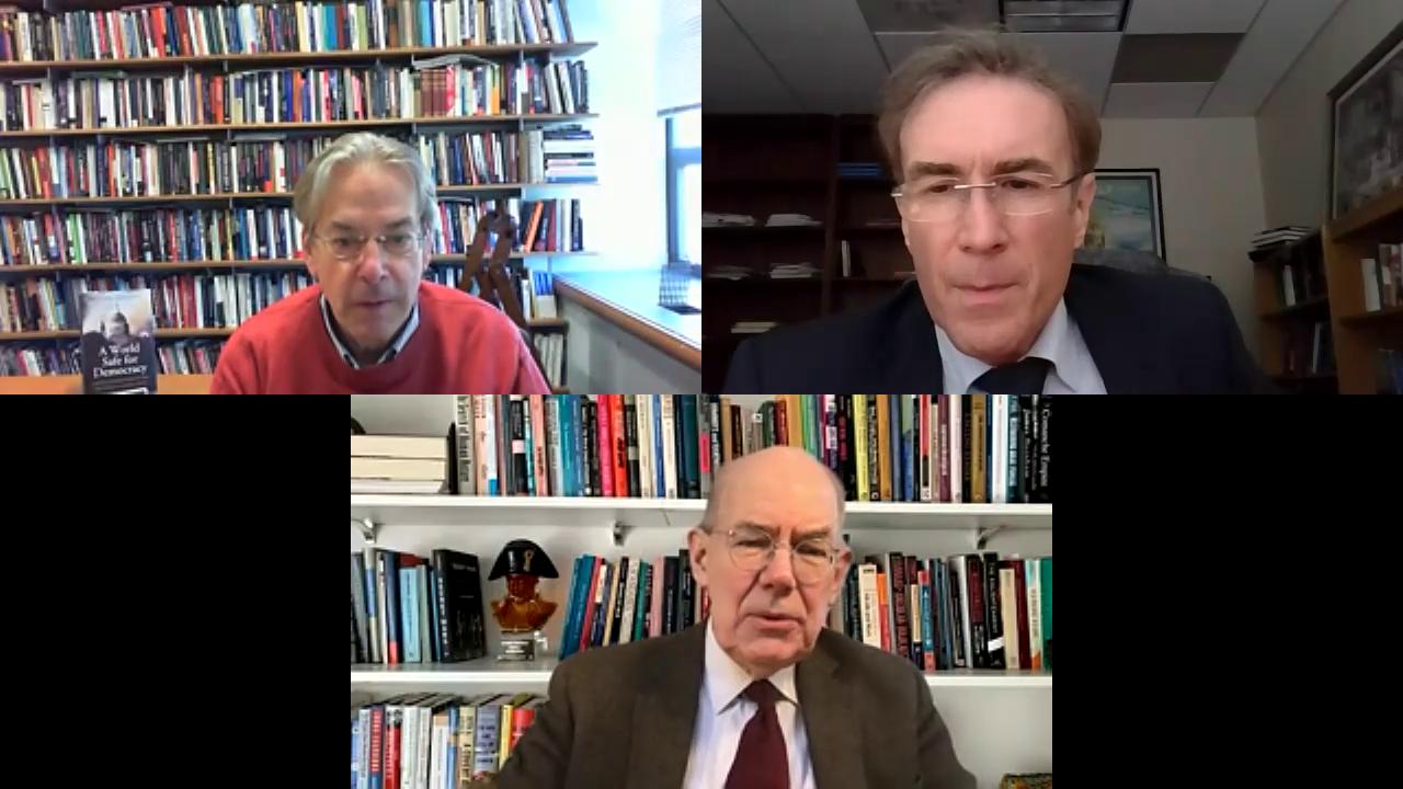 "Image for Dr. Ed Barrett, John Ikenberry and John Mearshimer - ""The Future of the Liberal International Order"""