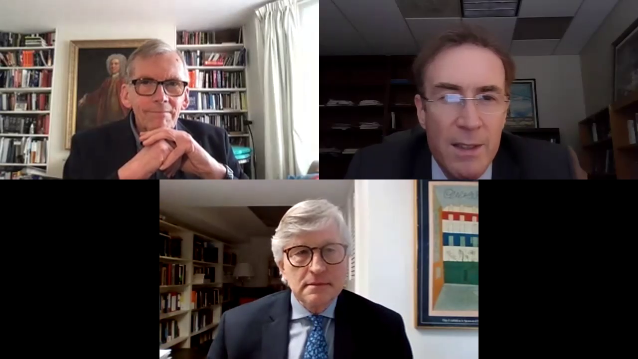 Image for McCain Virtual Conference 2021, Day 4 - Dr. Ed Barrett, Sir David Omand, Mr. Mitt Regan - The Ethics of Human Intelligence Collection