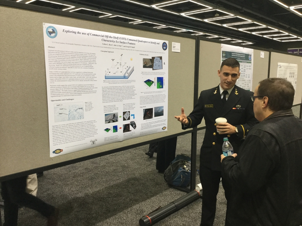 Image for Ten Midshipmen present research at the 2017 AMS Annual Meeting