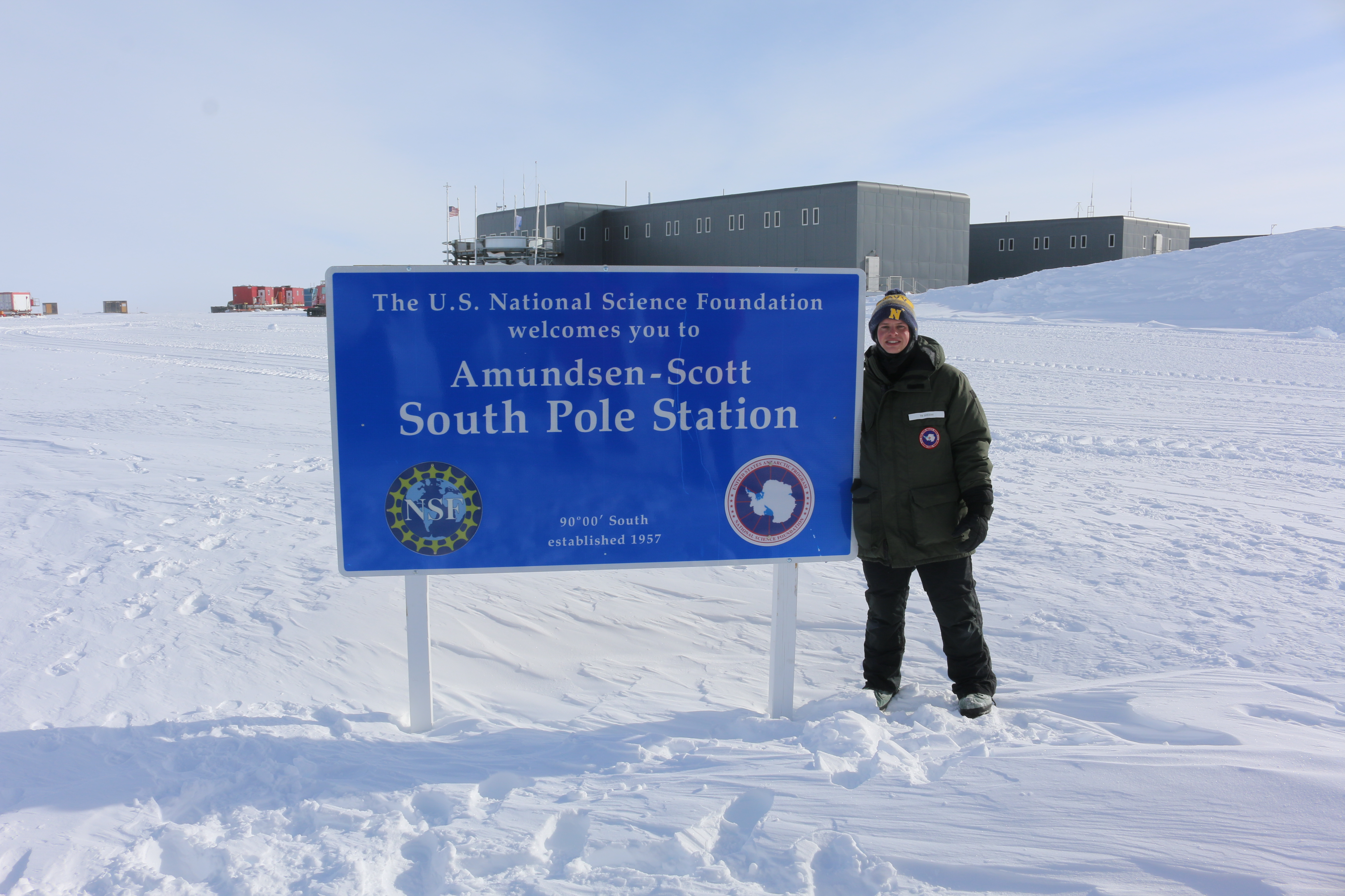 Image for Oceanography Major goes to the South Pole as part of Operation DEEP FREEZE