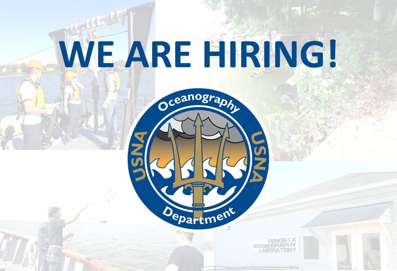 Image for The Oceanography Department seeks applicants for an Instructor of Practical Applications