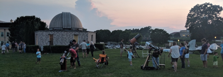 Image for Observatory and Planetarium Star Party