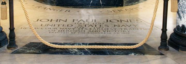Captain John Paul Jones Body