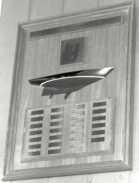 The LT Robert D. Huntington Memorial Trophy