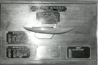 The USS Reina Mercedes Trophy