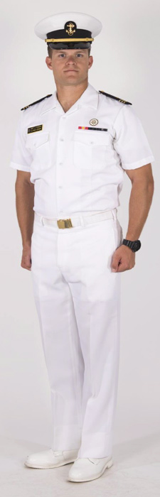 Summer White :: Midshipmen Uniform Regulations :: USNA