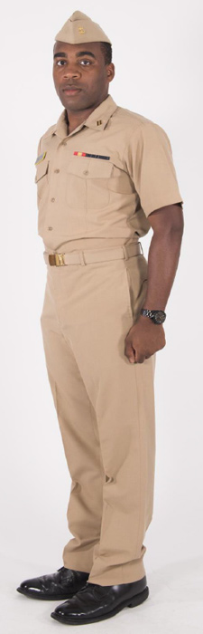Service Khaki :: Midshipmen Uniform Regulations :: USNA
