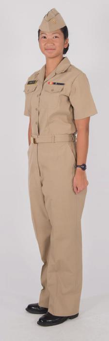 Service Khaki Midshipmen Uniform Regulations
