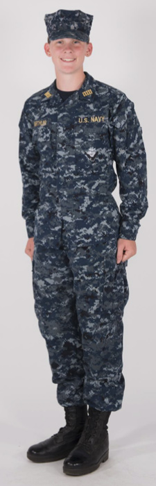 NWU Type I :: Midshipmen Uniform Regulations :: USNA