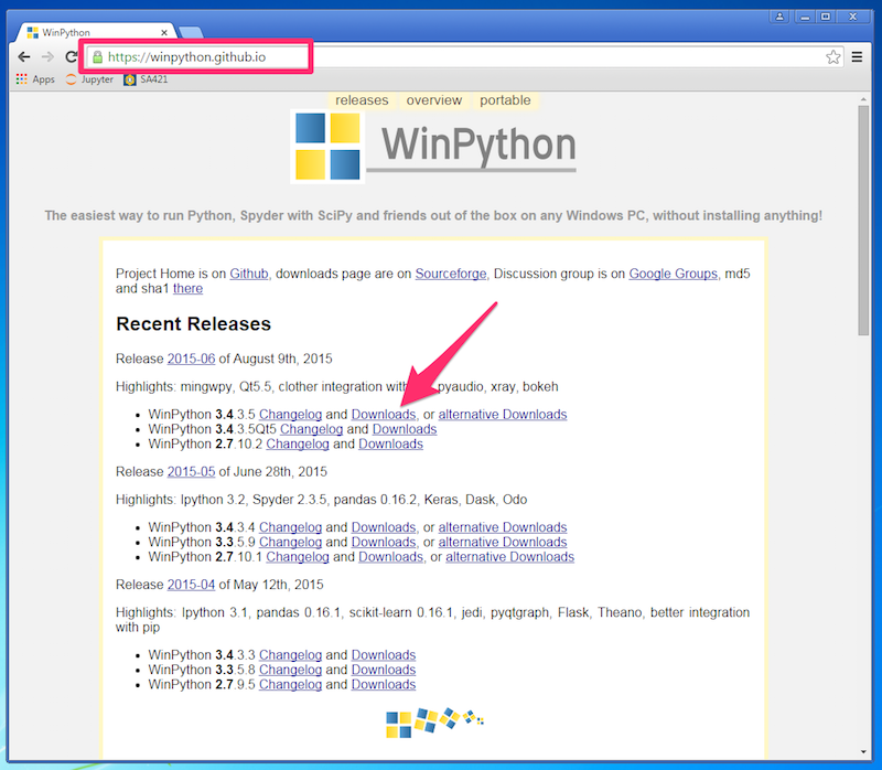 Installing Python - SA421 - Simulation Modeling