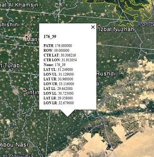 landsat path row map Landsat Path Row landsat path row map