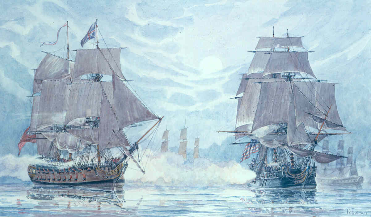 The Battle Of Flamborough Head 23 September 1779