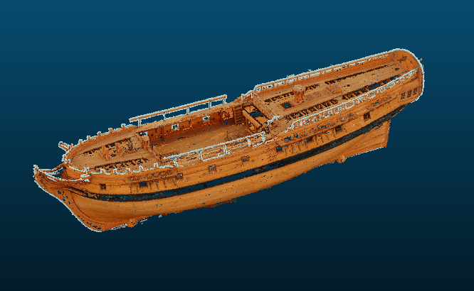 Ship model viewer