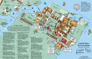 USNA Visitors Map