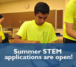 Summer STEM Applications