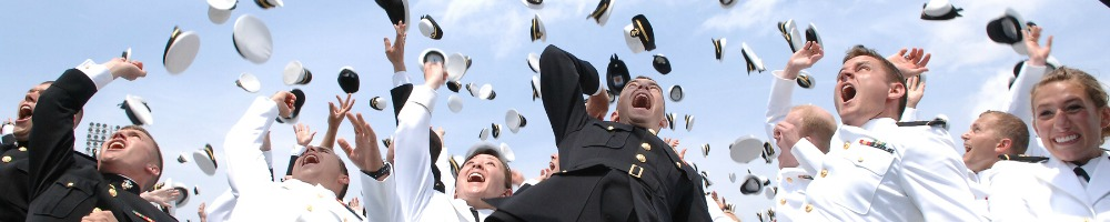 Commissioning Hat Toss