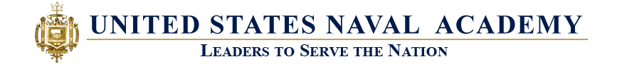 United States Naval Academy page banner